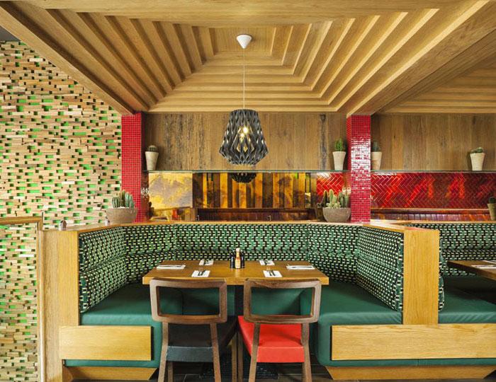 Mexican Restaurant By Brown Studio Interiorzine