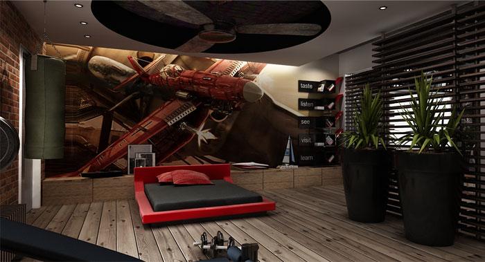 Urban Loft Interior Design By George Papos InteriorZine
