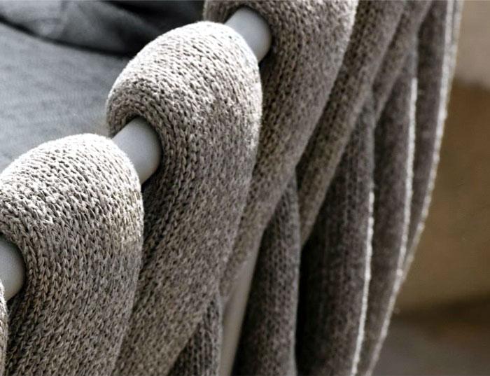 chair latest design swivel glider fabric outdoor furniture by monica armani - interiorzine