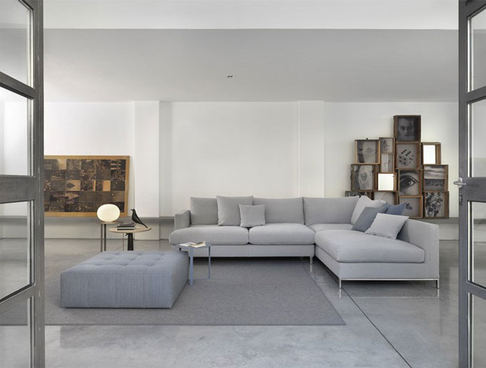 new style of sofa set zanotta greg loft by studio marelli - interiorzine
