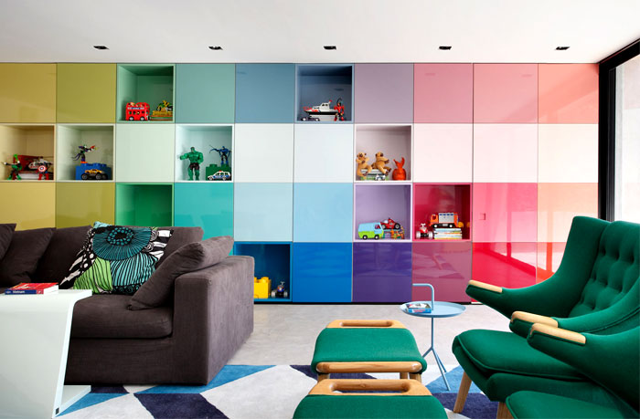 wall colors for living rooms 2017 best room design photos colorful and vibrant home interior by guilherme torres ...