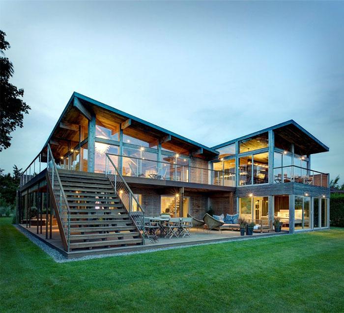 Eco Friendly Beach House  Home Trendy