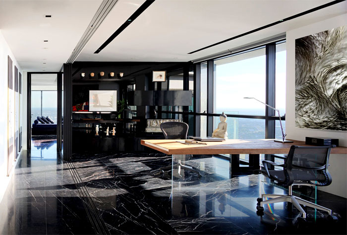 PANO  Three Floors Penthouse Residence  InteriorZine