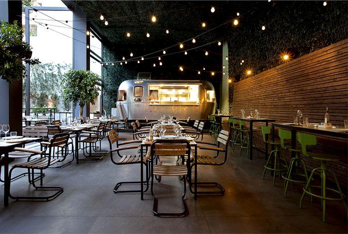 Garden Restaurant Interior Design