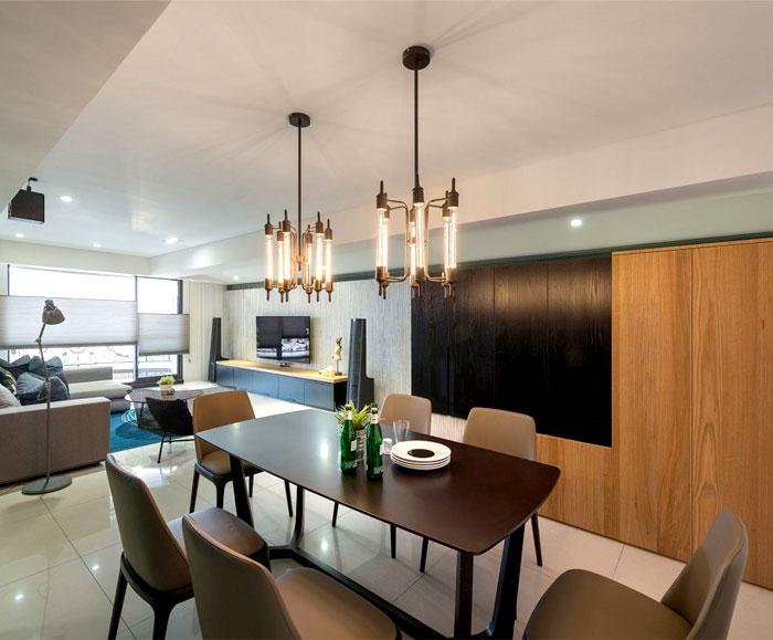 Modern Urban Dwelling by White Interior Design - InteriorZine