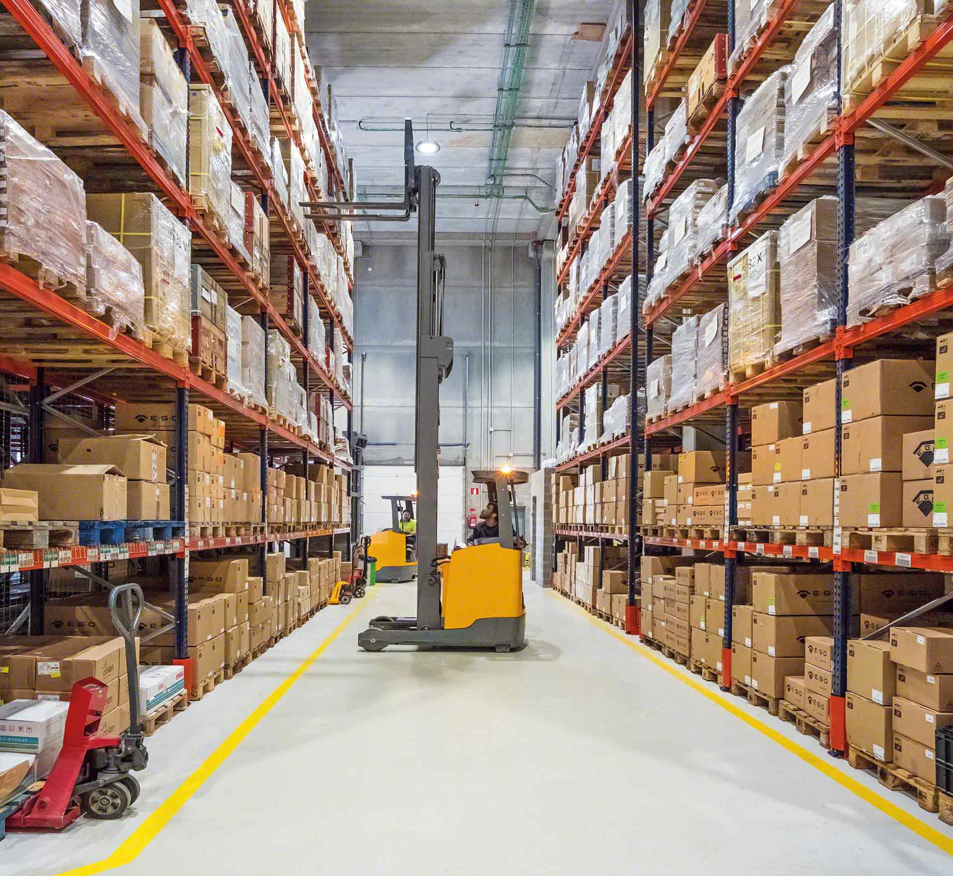 How To Calculate Warehouse Capacity Interlake Mecalux