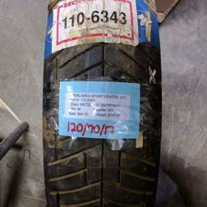 TIRE IRC 120-90-17 RS310R