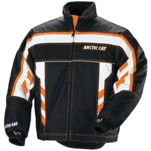 Arctic Cat Airstrobe Advantage Jacket Large Tall – Black, Orange, White