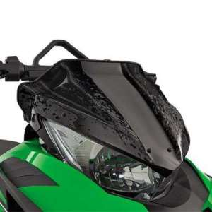 Arctic Cat Low Windshield – Black – 2012-2014 F XF M ZR