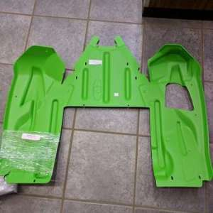 Arctic Cat Rear Skid Plate – Team Arctic Green – 2014-2018 ZR XF M