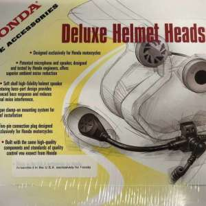 Gold Wing Deluxe Headset for Full Face Helmet Honda Genuine Accessories 08B80-MCA-100