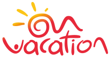 ON VACATION logo