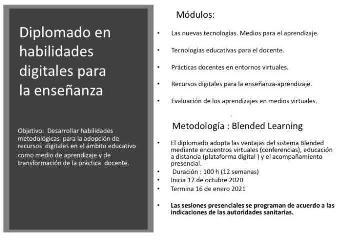 Diplomado en habilidades digitales para la enseñanza