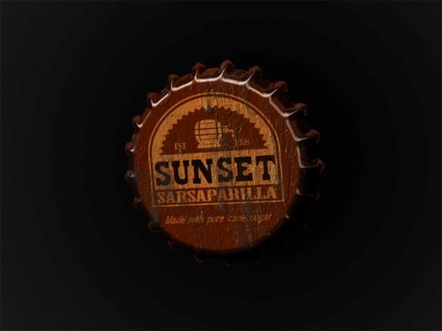 sunset sarsaparilla fallout wallpaper designed by keena wolff graphic designer las cruces