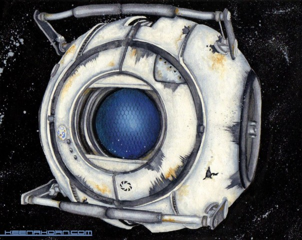wheatley watercolor portal 2 keena wolff