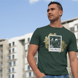 Skulls And Succulents Logo - t-shirt apparel brand for New Mexicans and southwest desert dwellers Las Cruces Organ Mountains New Mexico NM Trendy clothing Cool