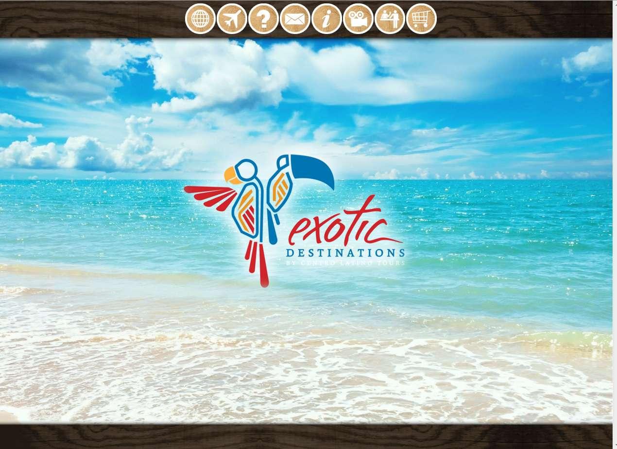 Exotic Destinations website