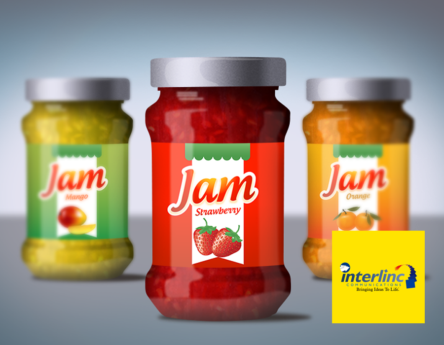 Product Label Design by Interlinc Communications