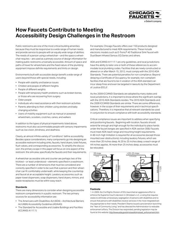 chicago faucet ada whitepaper interline creative group