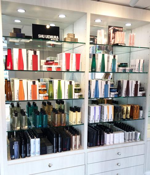Shu Uemura Hair Care Products at  INTERLOCKS Salon + Spa