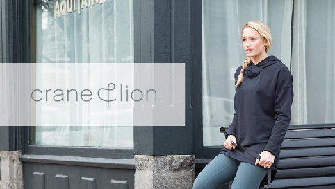 Crane & Lion Boston activewear brand