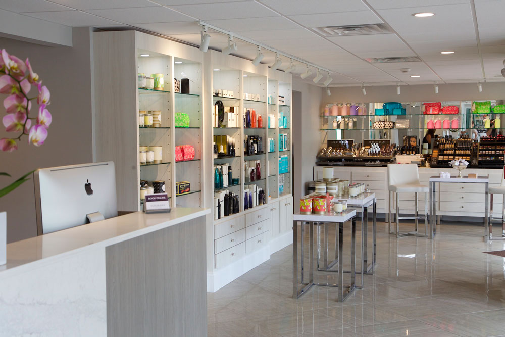 Beauty Apothecary Retail at at INTERLOCKS Salon + Spa