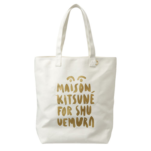 Shu Uemura Maison Kitsune Beach Tote Bag