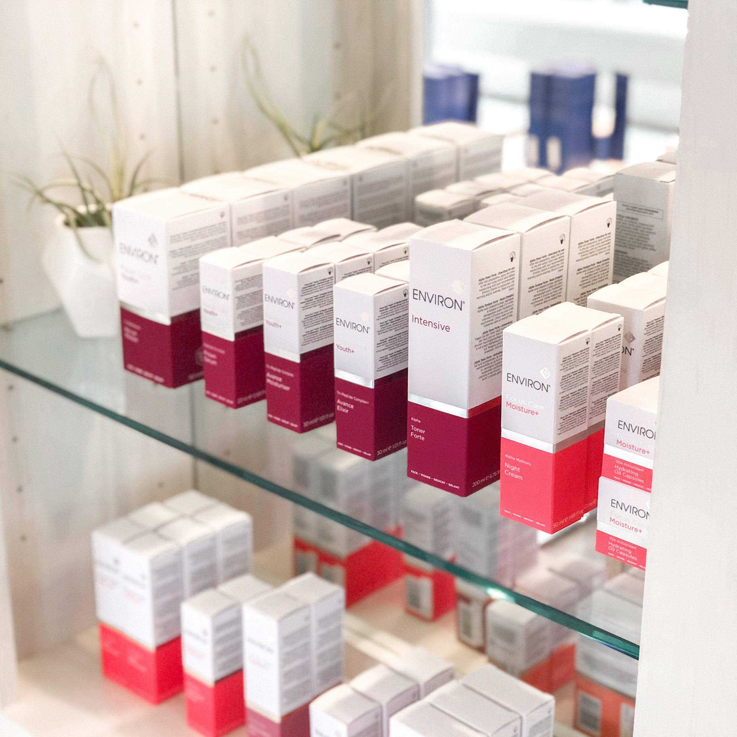 Environ Skin Care products at INTERLOCKS MedSpa + Wellness
