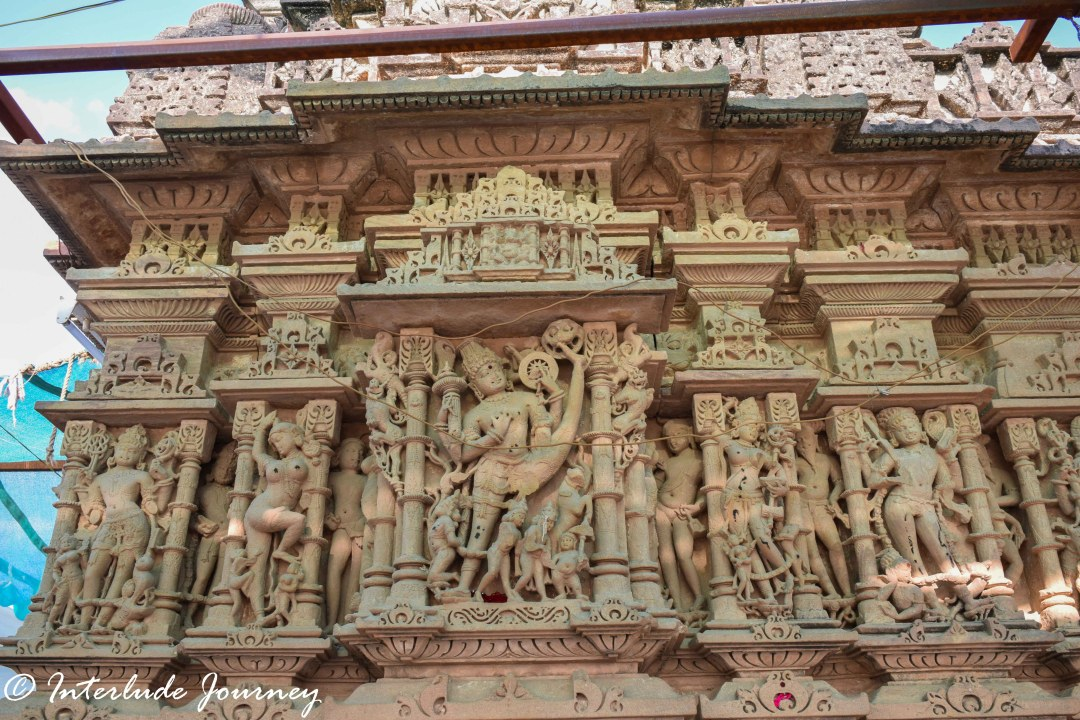 Carvings at Sachiya Mata temple in Osian