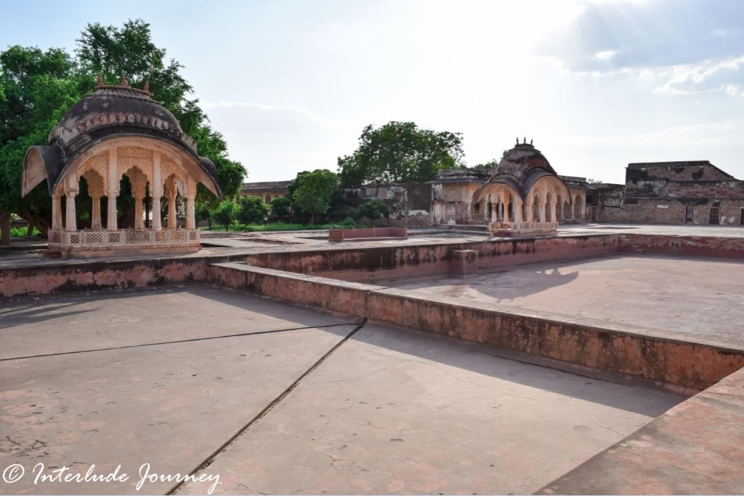 Swimming pools in Nagaur Fort