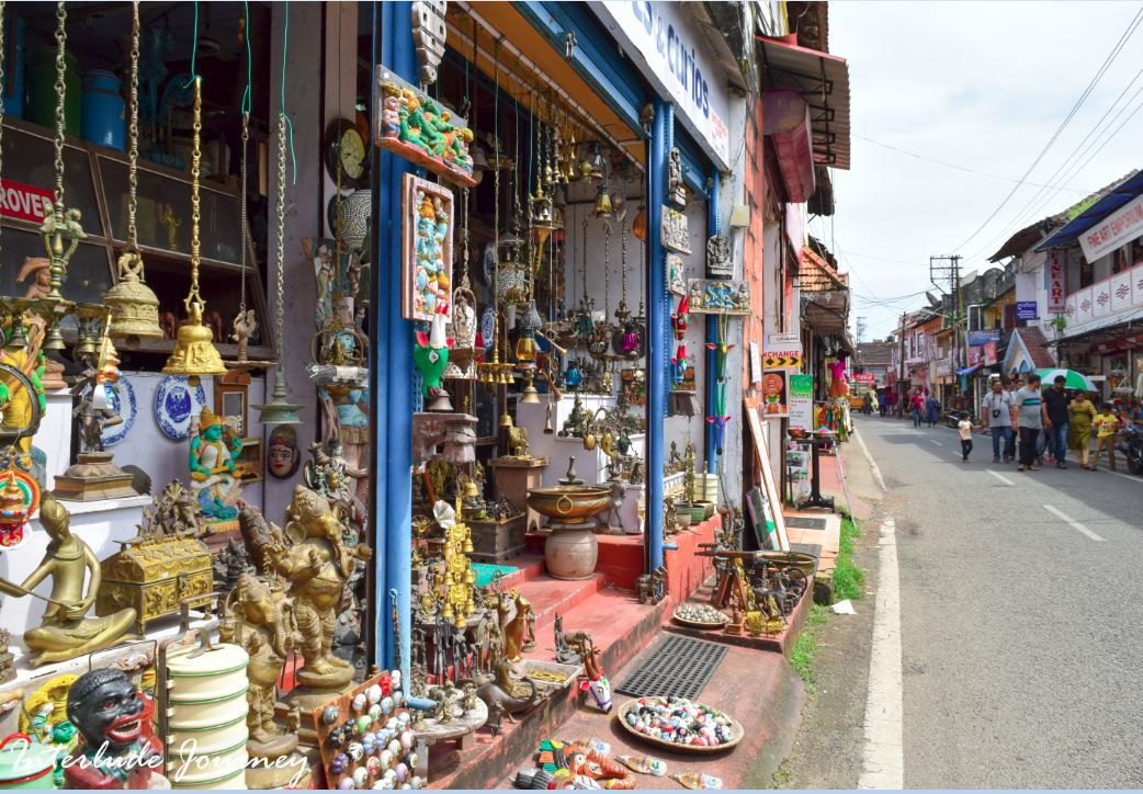 Jews street in Mattancherry