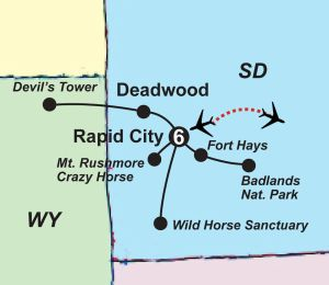 Black Hills & Badlands Guided Vacation