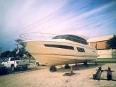 Bow view of 2014 Prestige 450S