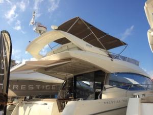 Prestige 620S with its flybridge