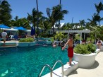 Resort pool in Hope Town, Abacos