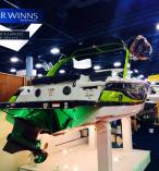 Four Winns TC222 with new Volvo Penta Forward Drive Propulsion System