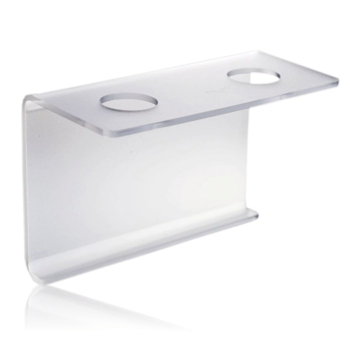 INTERMARKET MISTY WALL BRACKET, DOUBLE