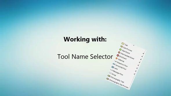 Verberg gereedschapsnamen voor meer schermruimte in Visual Paradigm