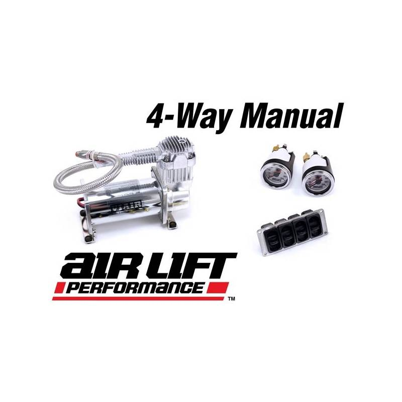 Air Lift 4-Way Manual Management Package