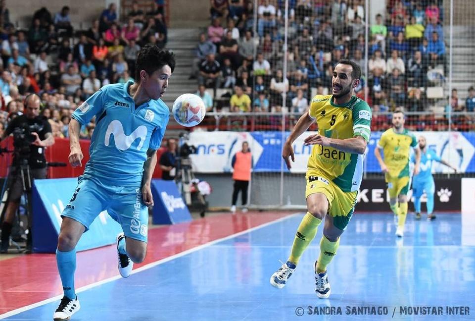 Movistar Inter FS y Jaén Paraíso Interior lucharán por el primer título de la temporada 18-19