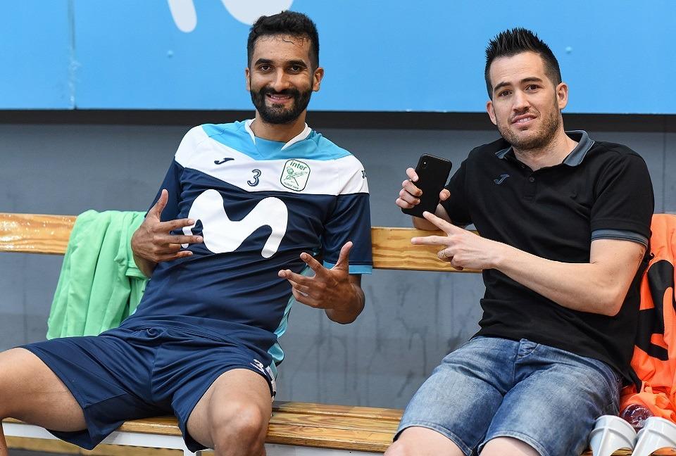 Humberto y Rafael continúan evolucionando de forma satisfactoria de sus lesiones
