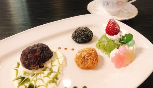 カフェオランジェットのおはぎのデセールが美味しい。名古屋市西区にオープン。