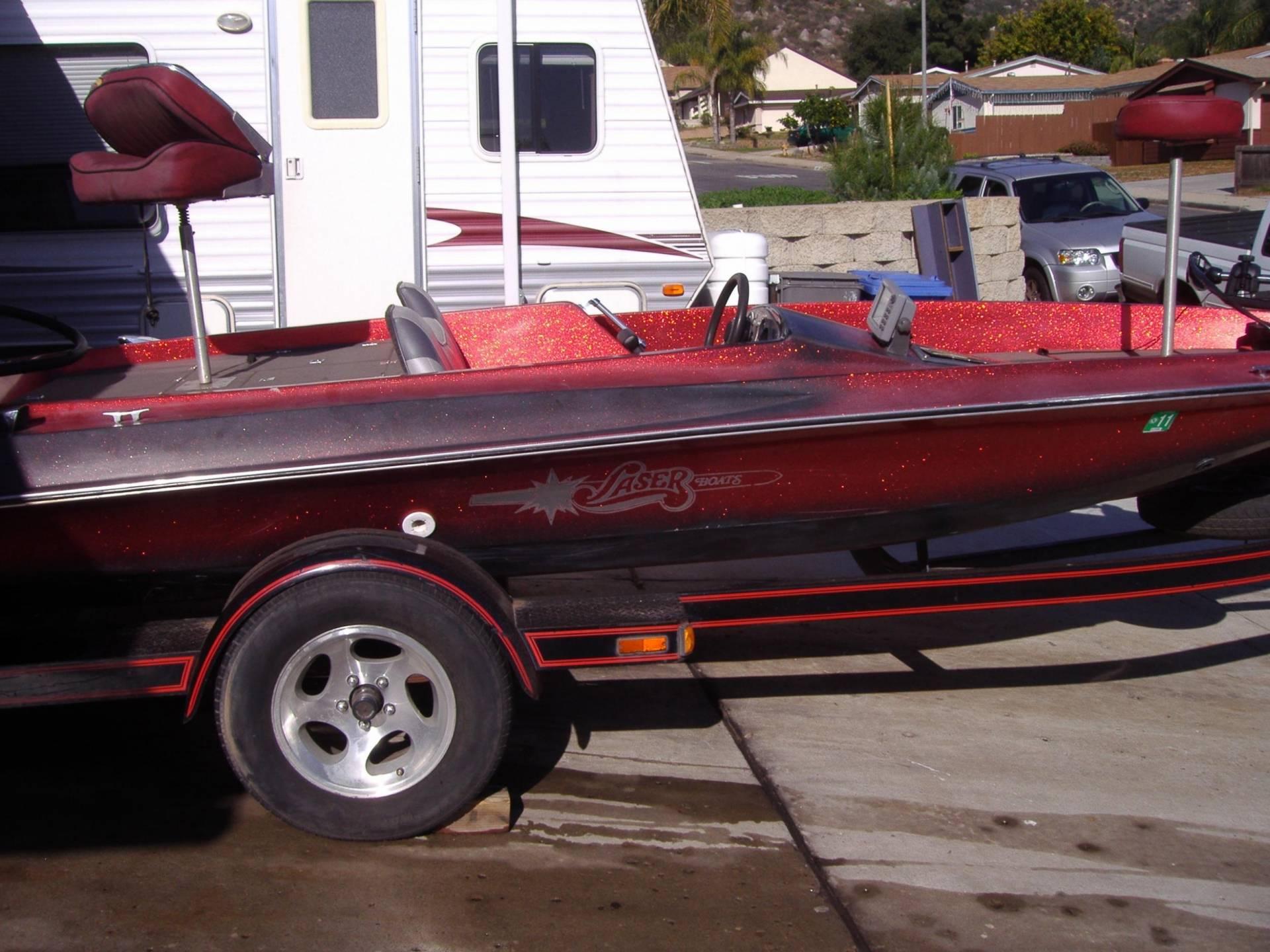 Bass Boat 18 Laser W 150 Merc