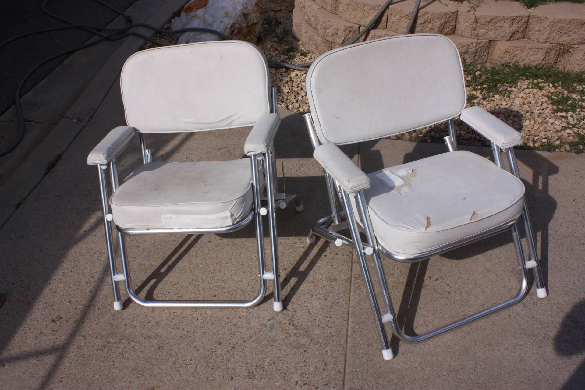 west marine chairs aluminum lawn chair deck will be great with a little tlc saltwater