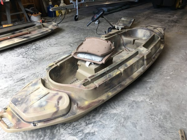 Beavertail Stealth 1200 Duck Boat