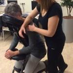 Schouder massage