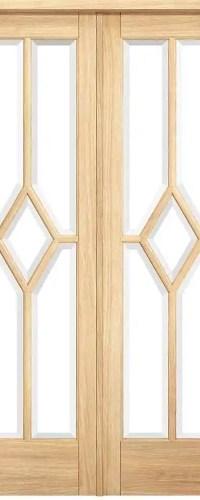 Room Divider Oak Reims W4