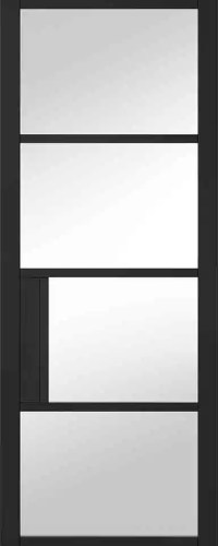 Black Chelsea Glazed 4L Clear