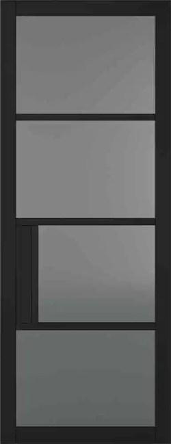 Black Chelsea Glazed 4L Tinted
