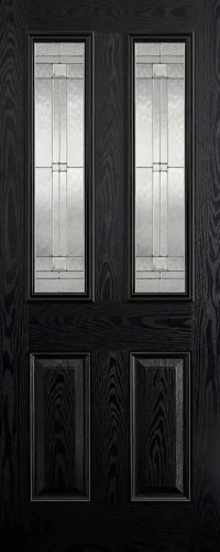 GRP Malton Black Glazed 2L